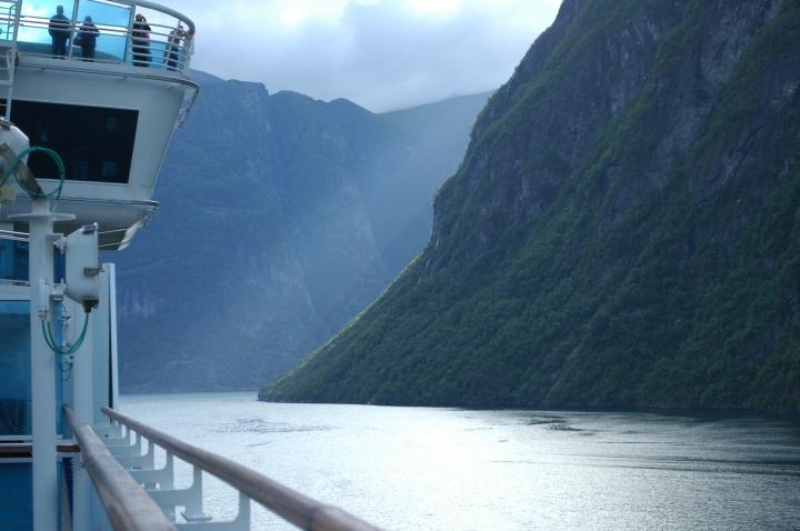 Inside Geirangerfjord